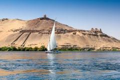 Nile Felucca tradicional Fotos de archivo