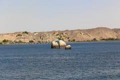 Nile flod royaltyfria bilder