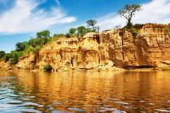 nile flod uganda Arkivfoton