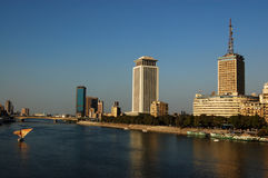 Nile no Cairo Fotos de Stock Royalty Free