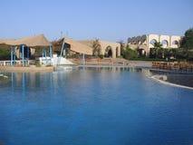 Nile Resort Egypt. Resort Hotel on the Nile at Abu Simbel, Egypt Stock Images