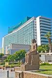 Nile Ritz-Carlton Hotel en El Cairo fotografía de archivo