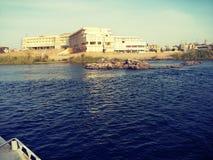 Nile River à Assouan l'île d'usines photos libres de droits