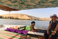Nile River - África imagen de archivo