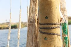 Nile River - África foto de archivo libre de regalías