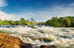 Nile River stock image