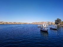 Nile River imagem de stock