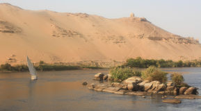 Nile River Stock Photo