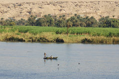 Nile River photographie stock