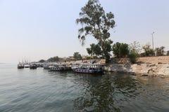 Nile River - Afrika royaltyfria foton