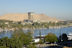 The Nile River - Aswan - Egypt Royalty Free Stock Image