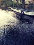Nile River in Aswan het installatieseiland royalty-vrije stock foto