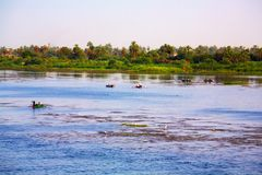 Nile river, Egypt Royalty Free Stock Image