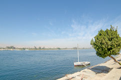 Nile river in Egypt Royalty Free Stock Photography