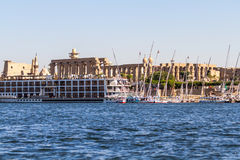 The Nile river Royalty Free Stock Photo