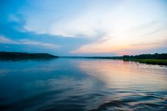 Nile River, Uganda, África central do leste fotografia de stock royalty free
