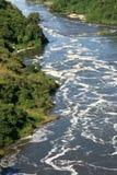 The Nile River, Uganda, Africa. The River Nile, Murchison Falls National Park Safari Reserve in Uganda - The Pearl of Africa Royalty Free Stock Image