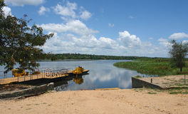 Nile scenery in Uganda Stock Photography
