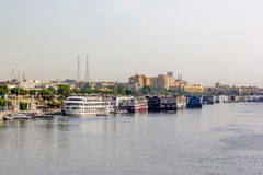 Nile shore Stock Images