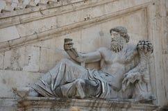 Nile Statue à Rome, Italie Photo stock