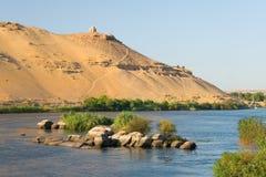 Nile to his step along Asuan Royalty Free Stock Photo