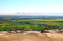 Nile Valey view Stock Photography