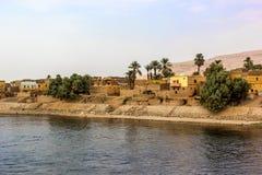 Nile village Royalty Free Stock Photography