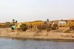 Nile village Stock Photo