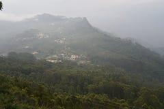 Nilgiri mountain view at Kodaikanal, Tamil Nadu stock photo
