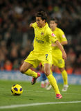 Nilmar of Villarreal CF Stock Images