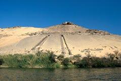 Nilo, Egitto Fotografia Stock