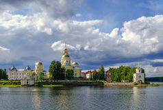 Nilo-Stolobensky Monastery Stock Image
