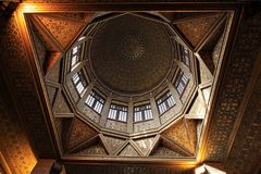 Nilometer dome Stock Photo
