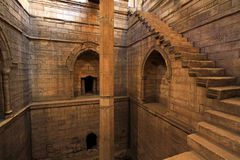 Nilometer stairs Stock Photos