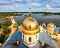 Nilov-Kloster, See Seliger, Tver-Region, Russland Stockfoto