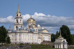 Nilova Pustyn. Monastery in Tver region Stock Images