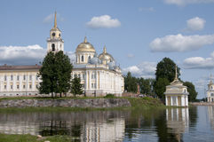 Nilova Pustyn. Russian. Nilova Pustyn monastery in Tver region Stock Photo