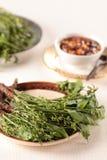 Nim blanchi leaf-5 photo stock