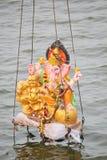 Nimajjan av Lord Ganesh, Indien Arkivbild