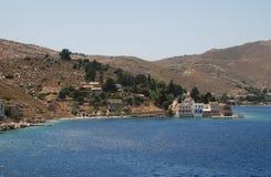 Nimborios, Symi island Stock Images