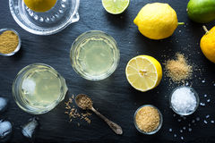 Nimbu Pani Indian lemonade. Stock Photography