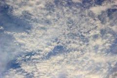 Nimbus καλύπτει τον ουρανό στοκ εικόνα