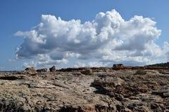 Nimbus πέρα από τη γη στοκ εικόνες
