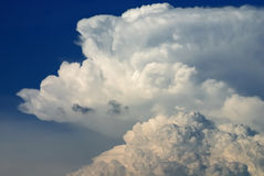 Nimbus in Cloudscape Stock Photo