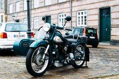 Nimbus-Motorrad Stockfoto