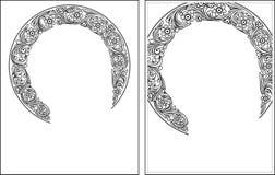 Nimbus outline1-2 bild Royaltyfria Bilder