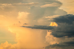 Nimbus or Rain clouds forming in the sky Stock Images