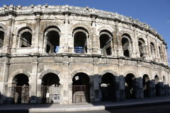 Nimes arena in France Royalty Free Stock Image