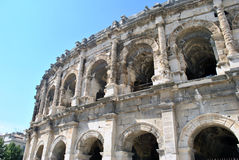 Nimes arena Royalty Free Stock Photo