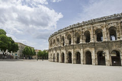 Nimes Arena Stock Photos